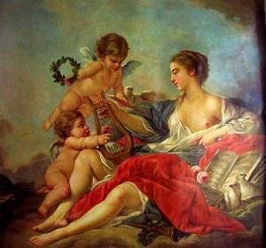 Boucher - alegoría de la música