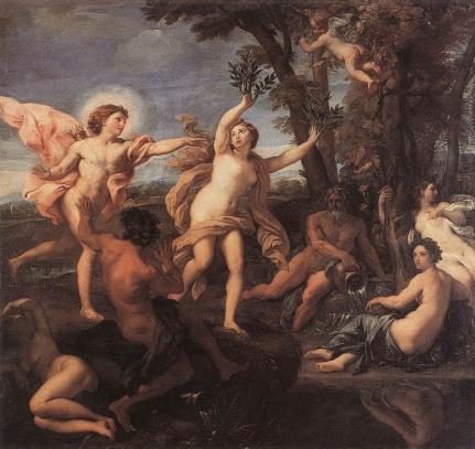 Apolo y Dafne, de Carlo Maratti