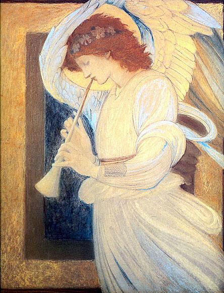 Edward Burne Jones - Ángel