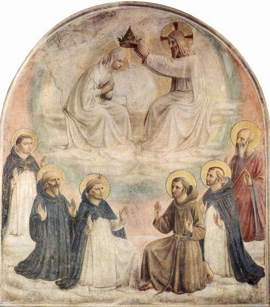 Fra Angélico - La Coronación de la Virgen