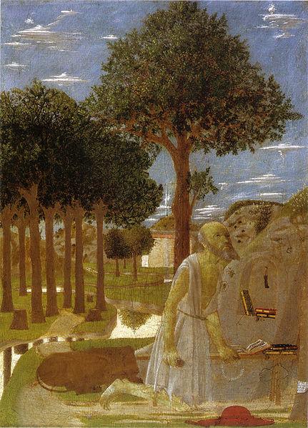 Piero Della Francesca -  San Jerónimo penitente