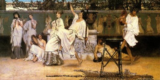 Alma Tadema - bacanal