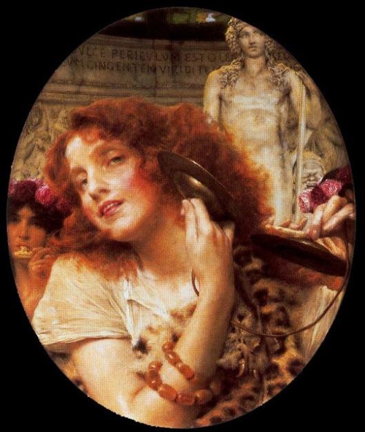 Alma Tadema - Bacante