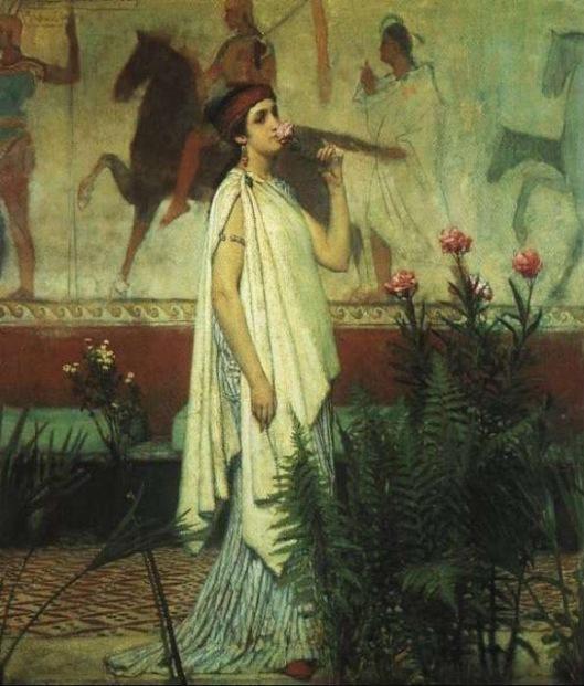Alma Tadema - mujer griega