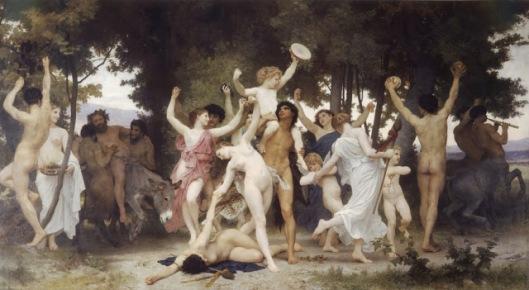 Bouguereau - la juventud de baco