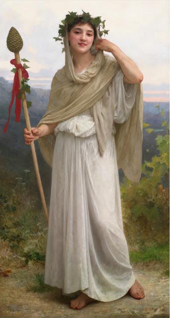 Bouguereau - sacerdotisa de baco