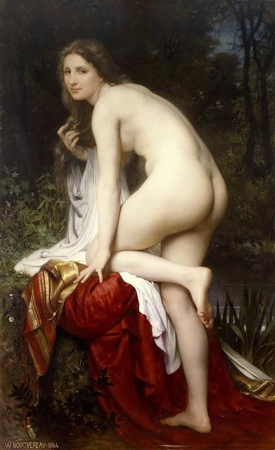 Bouguereau_-_bañadora