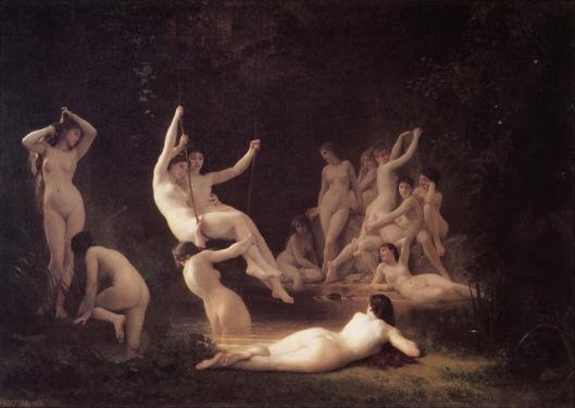 Bouguereau_The_Nymphaeum