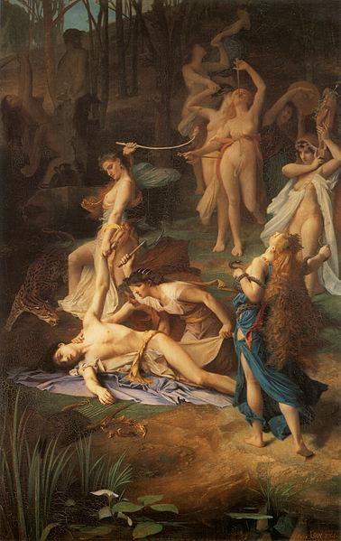 la muerte de orfeo - Emile Levy