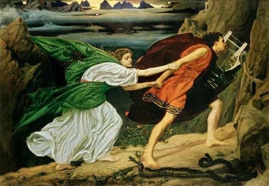 Orfeo y Euridice - Edward Poynter