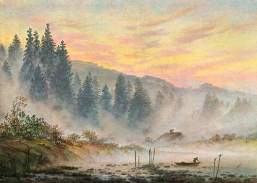 caspar friedrich- nieblas de mañana