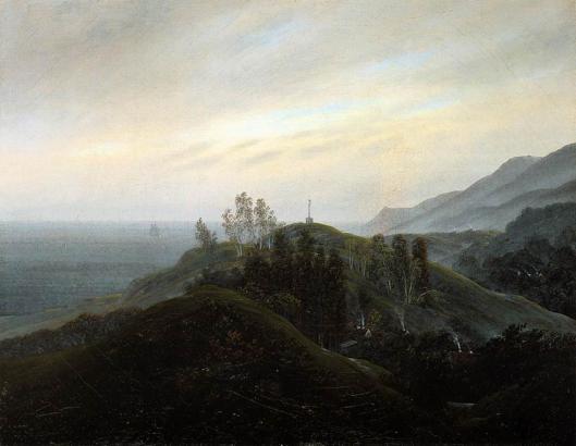 caspar friedrich- vista del báltico