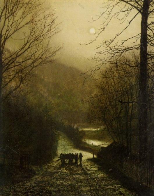 john grimshaw - paisaje de scarborough